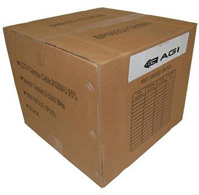 AGI, WRG59W1000UL, 1000ft, White, Siamese Cable, RG59+18/2, Power, UL, Listed, specifications, availability, price, discounts, bargains