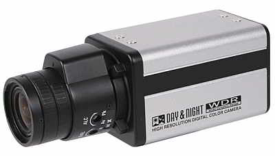 AGI BOX9820, Pixim Box Camera, 690TVL, DualScanWDR, ICR, True DN, Dual Voltage