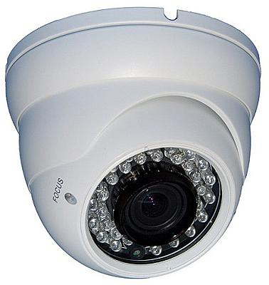 AGI DIR7-735W, Large White Dome, Camera, Sony Exview + EFFIO-E, 700TVL, 2.8 - 12mm, IP66, 12v, specifications, availability, price, discounts, bargains