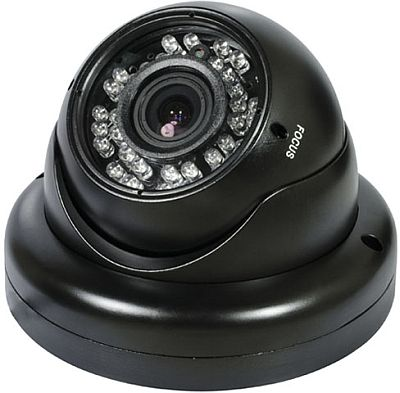 AGI DIR7-737B, Large Black Dome, Camera, Sony Exview + EFFIO-E, 700TVL, 2.8~12mm, IP66, 12v, Screw in Base, specifications, availability, price, discounts, bargains