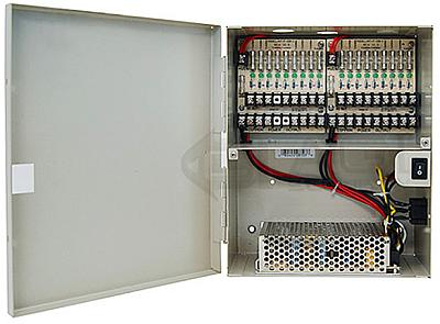 AGI, PS18-12, Power, Supply, Box, 9+9, Port, 24V, AC, Output, 4Amp, Max, 12V, DC, Output, 5Amp, Max, specifications, availability, price, discounts, bargains