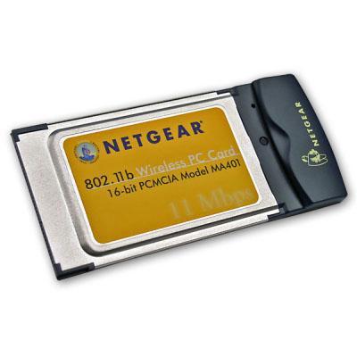 netgear ma401 wireless pc card