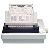 Citizen Systems GSX-190 Dot Matrix Parallel Port Printer, 270 cps ma. print speed, 240 x 216 dpi max. resolution