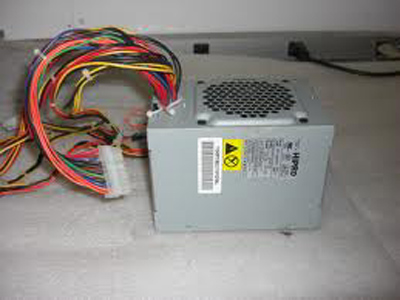 Hipro 230W power supply for IBM Thinkcenter. Connectors: 20+4-pin power, 4 molex, 2 SATA, 1 floppy. 5 7/8