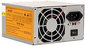 450W AT power supply