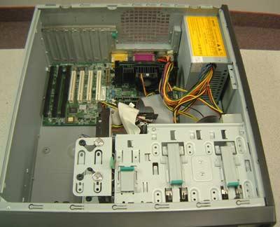 Interloper SC12 - ISA computer with 3 isa slots, PC system with three ISA slots, DOS system,