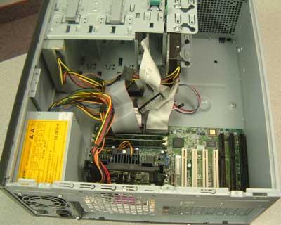 Interloper SC12 - ISA computer with 3 isa slots, PC system with three ISA slots, 9 pin serial port,