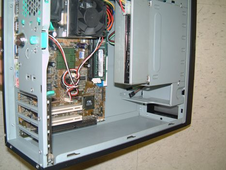 compact computer, isa slot, slimline computer with 1 isa slot, PC system with one isa slot.