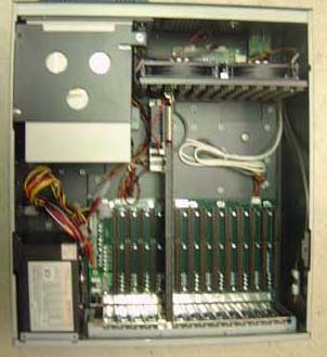 industrial rackmount computer system with 14 isa slots
