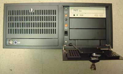rackmount computer system with 14 isa slots, 4U