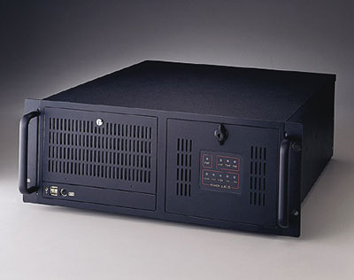 4U rackmount computer system with 14 isa slots