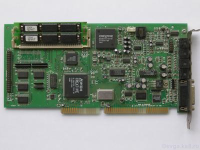 Creative Technology CT3670 ISA Sound Card