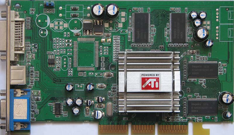 ATI Radeon 9200 256M DDR V/D/VO 256MB DDR AGP Video Card.