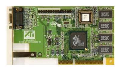 ATI_109-49800-11, ATI 3D Rage Pro Turbo 8MB AGP video card