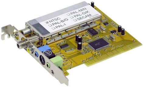 Universal tv fm tuner card + dvr card for desktop pc win8 win7 win.